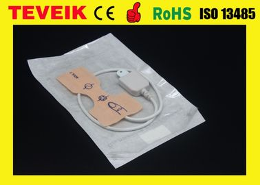 China Ms LNOP Adt adhesive Spo2 probe , Medical Surgical Accessories with 6 pin supplier
