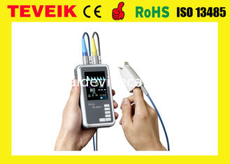 China Medical Multi Parameter SPO2 / TEMP Hand Held Pulse Oximeter supplier
