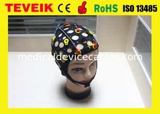 China Neurofeedback Separating EEG Hat/Cap , Silver Chloride Electrode supplier