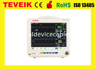 China Professional Multi Parameter Patient Monitor Support touch screen Optional (12.1 inch) for Hospital Use supplier