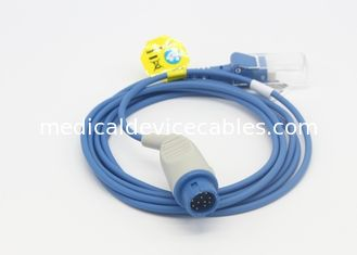 China Nellcor SPO2 Sensor Cable 9 pin Extension Adapt Cable For Minday PM8100 supplier