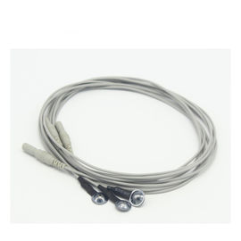 China Waterproof EEG Cable Cup Electrodes Silver Chloride Plated Copper Material supplier