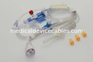 China Compatible edward disposable blood pressure ibp transducer, IBP cable with Single channel kit supplier