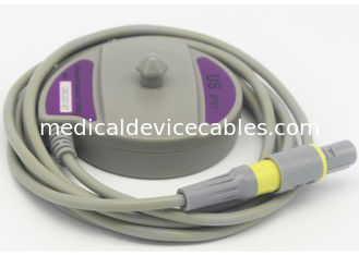 China Redel 4 Pin US Fetal Transducer Probe , Edan F3 Fetal Ultrasound Monitor Probe supplier