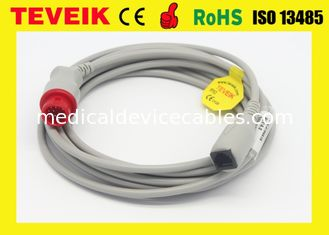 China CFDA Approved Abbott Adapter IBP Cable Round 12 Pin for Kontron Patient Monitor supplier