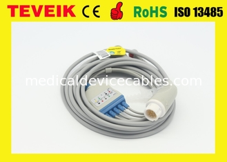 China Medical Mindray Round 12pin ECG Cable For Beneview T8 Patient Monitor supplier