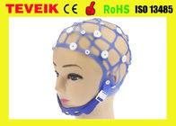 Separating Neurofeedback EEG Brain Cap Hat Silicone 20 Leads Without EEG Electrode