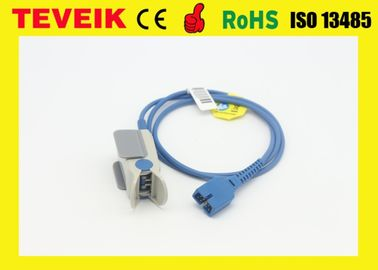 China DS -100A Oximax disposable pulse oximeter sensor for Nellcor , adult finger clip distributor