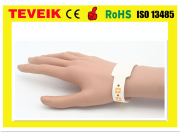 China High End Wrist Identify Medical ID Bands , Medical Barcode For Mother / Kids / Patient distributor