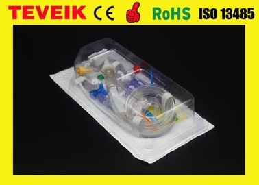 China Medical Invasive Disposable Blood Pressure Transducer Single Channel With Utah Connector distributor
