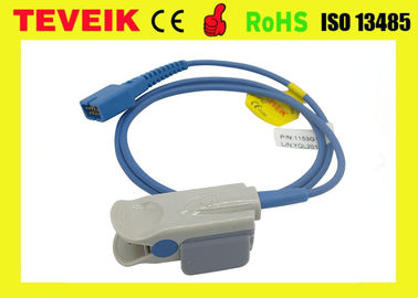 China Ds-100a Nellcor Reusable Spo2 Sensor Oxi 9 Pin TPU Material For Patient Monitor distributor